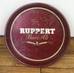 Vintage Jacob Ruppert Beer & Ale Serving Tray 13 Inch