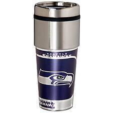 Seattle Seahawks 16oz Metallic Coffee Travel Mug Cup