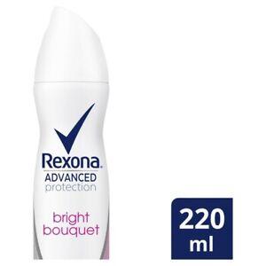 Rexona Women's Antiperspirant Aerosol Advanced Bright Bouquet Deodorant 220 ml
