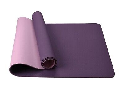 Bild 221 - TPE-Yogamatte-Fitnessmatte-Gymnastikmatte-Pilates-Sportmatte-Bodenmatte-60-80cm