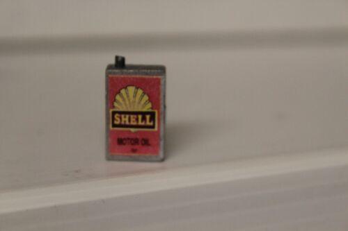Casa De Muñecas Artesanal Contenedor = Shell Motor Oil