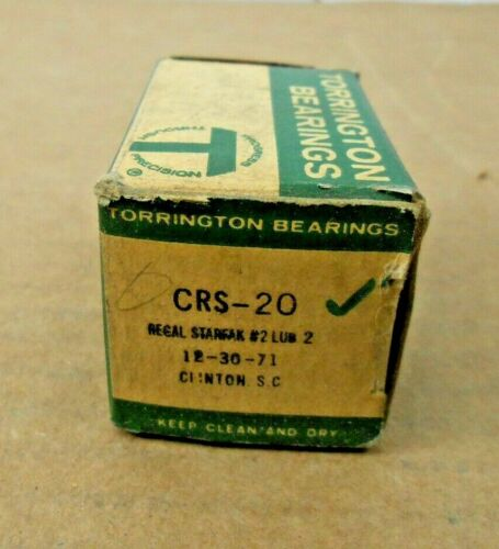 "1 NIB TORRINGTON CRS-20 CRS20 FLAT CAM FOLLOWER 1-1//4/"" ROLLER DIAMETER"