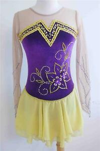 Kim Competition Ice Skating Dress Size X-Small