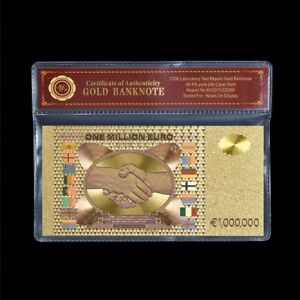WR-Colour-Gold-1-Million-Euro-Note-Novelty-Collector-Banknote-In-COA-Sleeve