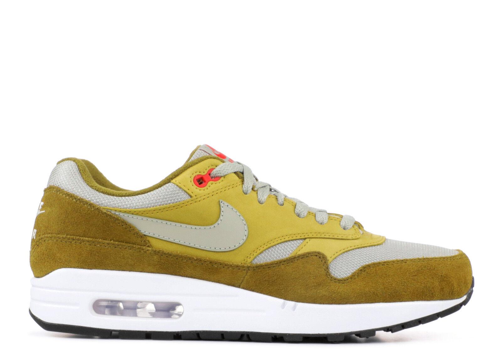 SALE Nike Air Max 1 Green Curry Atmos 6-13 Olive Flak Spruce Fog 908366-300 Casual wild