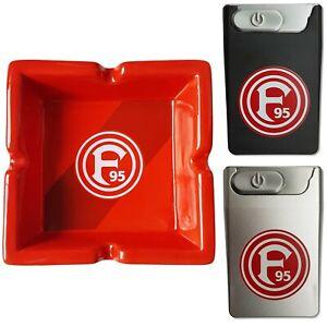 Fortuna Düsseldorf Aschenbecher Schwarz// Rot