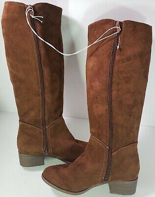 Womens Cognac Brown Tall Riding Boot