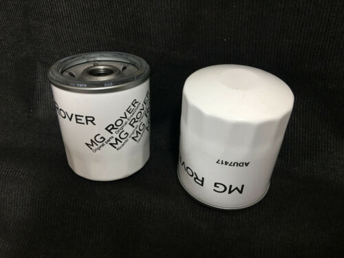 2x Genuine Rover 220 420 820 2.0 T Series Eng Models Petrol Oil Filters ADU7417