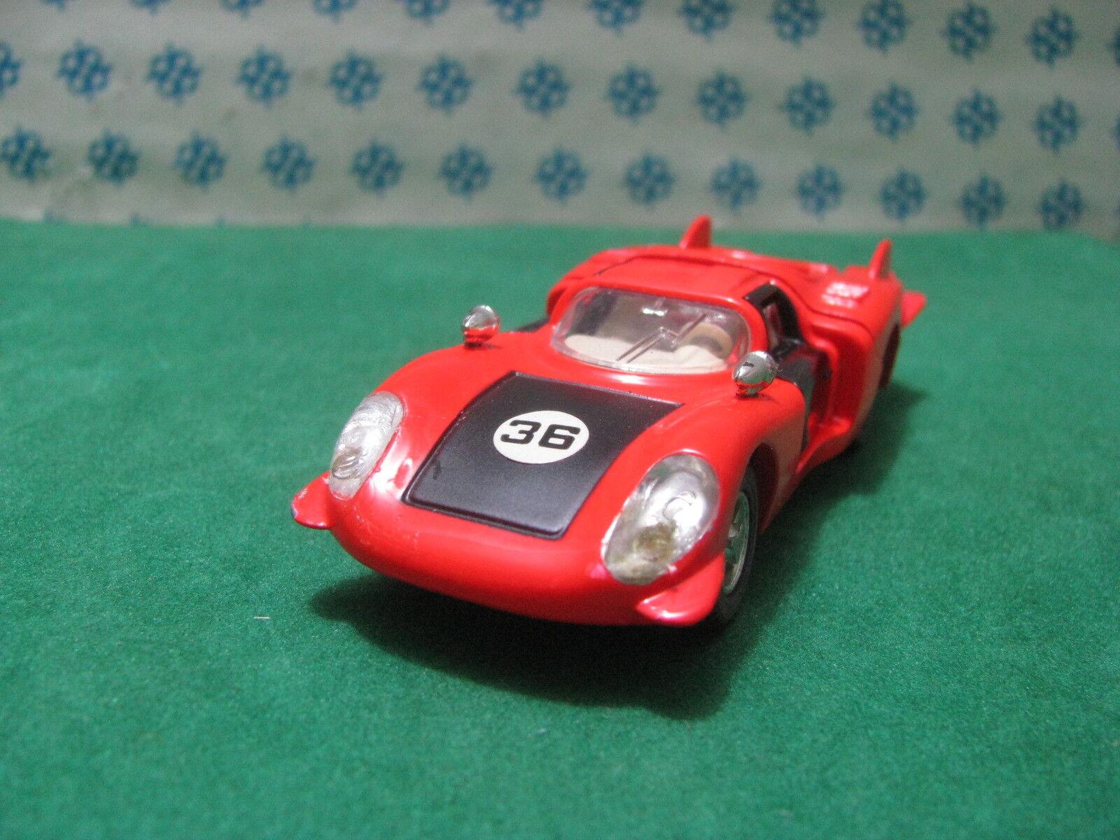 Vintage-Alfa Romeo 33 Long Tail - 1 43 Dinky Toys 210