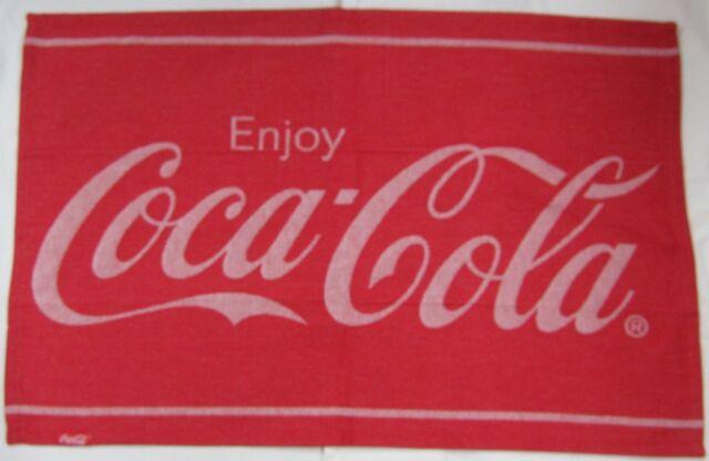 """Enjoy Coca-Cola"" Dishtowel - FREE SHIPPING"
