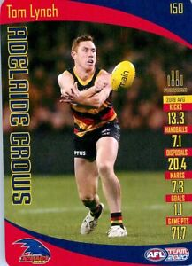 New-2020-ADELAIDE-CROWS-AFL-Card-TOM-LYNCH-Teamcoach