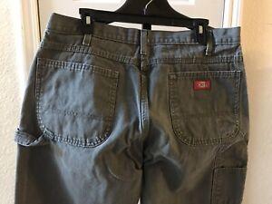 Para Hombre Dickies Lona Carpintero Pantalones Jeans Tamano 36 X 32 Usado En Excelente Condicion Ebay