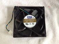 Brand Avc Ds12025b12h Fan 12012025mm 12v 0.75a 12cm 4pin Pwm