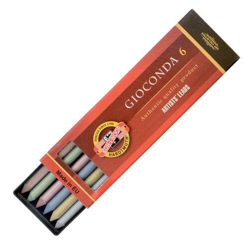 4376 Metallic Artist/'s Drawing Lead Refills for Pencils Koh-I-Noor 4380-4386