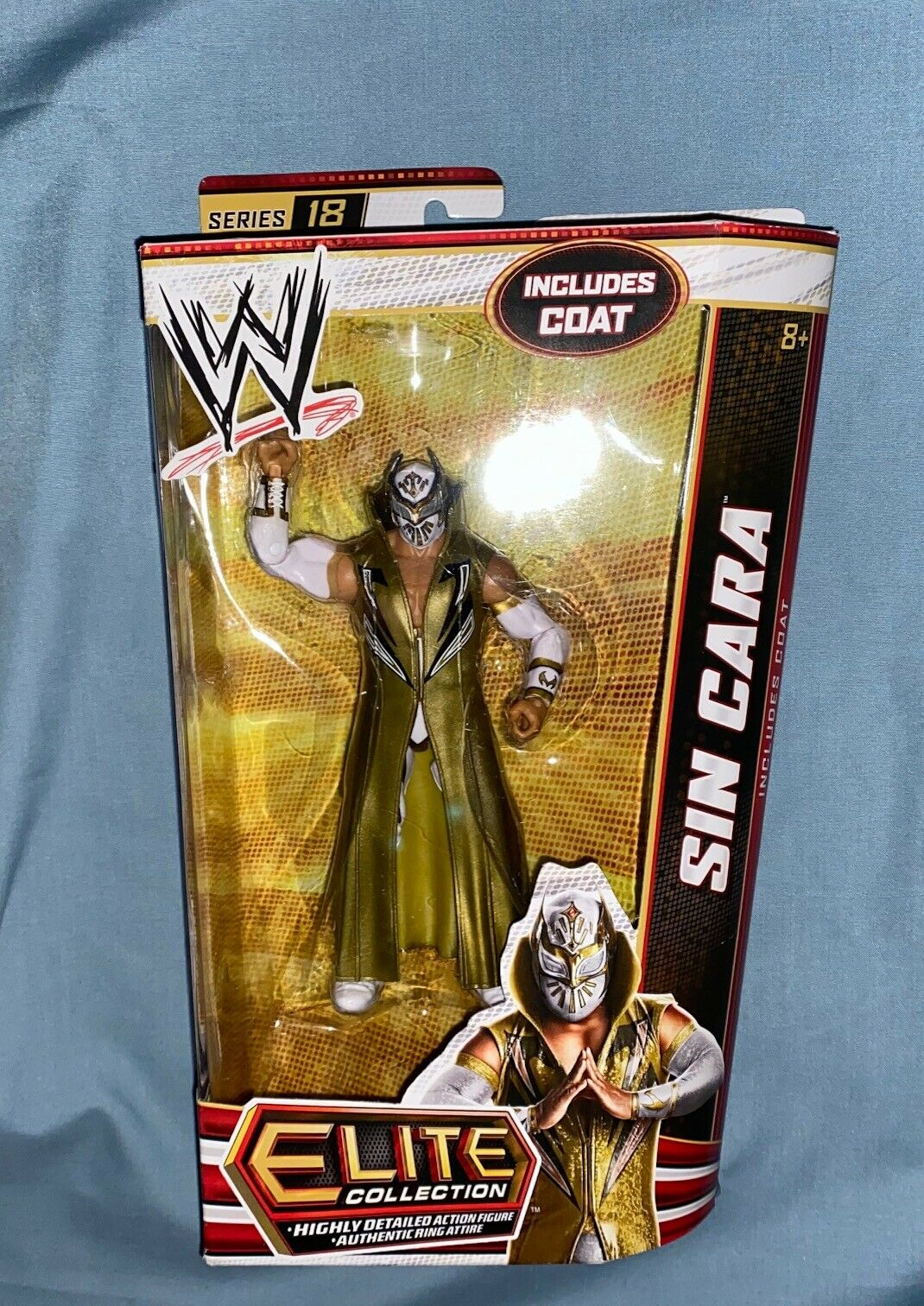 WWE Mattel Elite serie 18 Sin bila Figur, Flashback, Basic