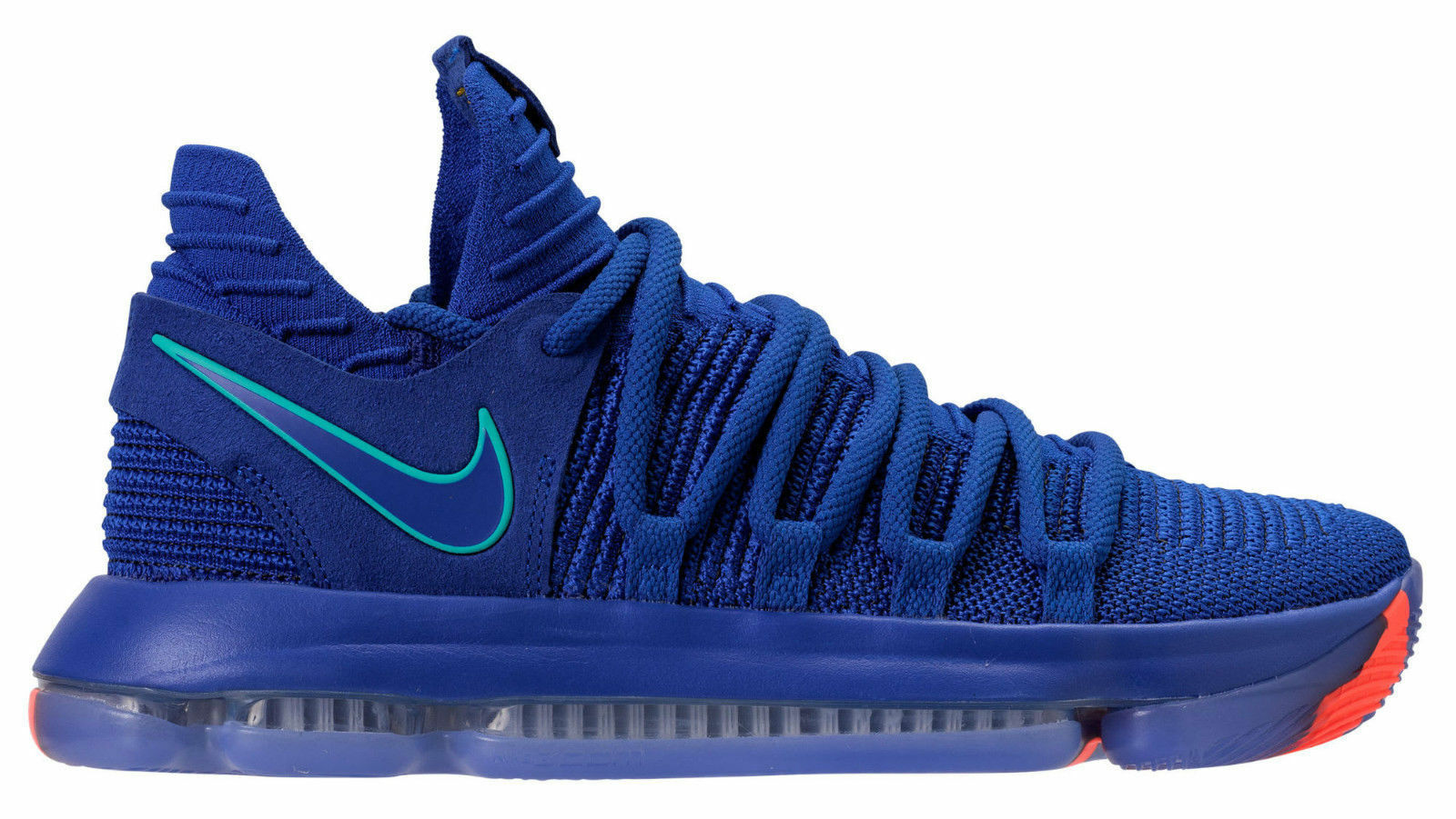 Auténtico Auténtico Auténtico Nike Zoom Kd X 10 Racer Azul Claro Hombreta Negro 897815 402 Hombre Talla 4c8a95