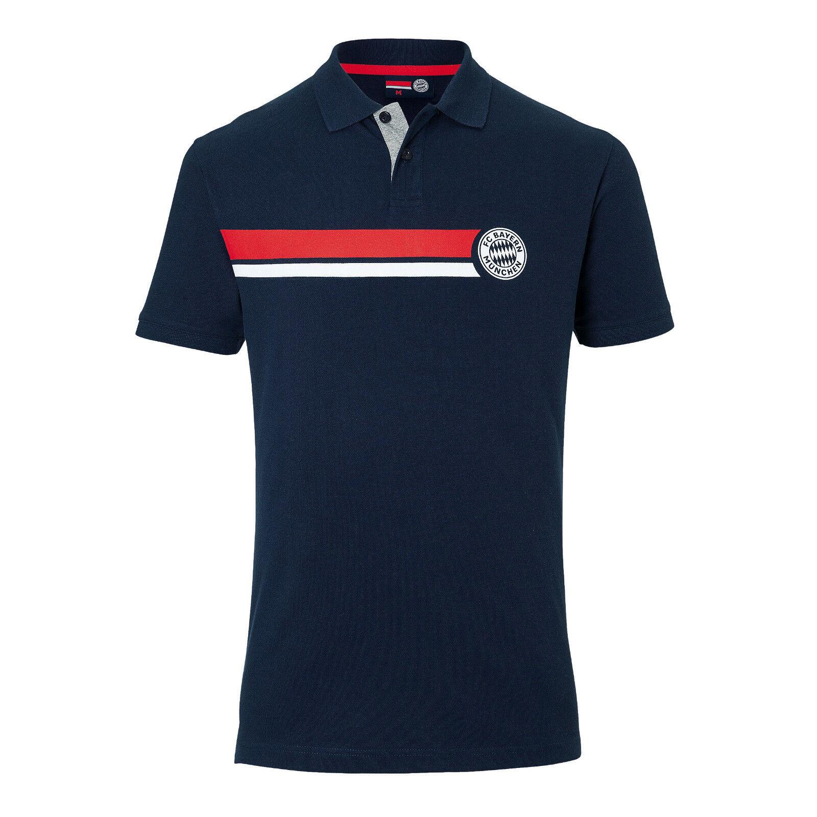 3f08d4cbf0a3d Original FC Bayern München Poloshirt Stripes FCB nvwzhm2043-Fußball-Fanshop