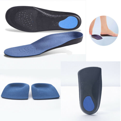 3//4 Orthotic Arch Support Insoles For Unisex Plantar Fasciitis Fallen Arches New