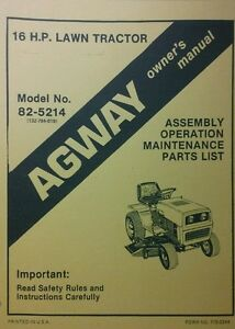 Old Agway Riding Mowers