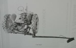 IH C-24 Rear Direct Mounted Sickle Bar Mower Owners Manual