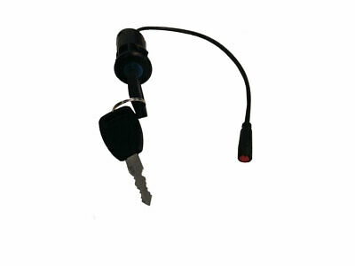 MotoTec Mad 1600w Scooter Key Lock Ignition with Connector