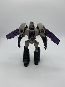 Hasbro Transformers Animated 2008 Voyager Blitzwing MISSING GUNS