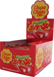 Cherry-Stix-Chupa-Chups-Fruit-Flavoured-Stick-Sweets-Candy-10g-10-20-30
