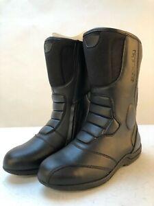Spada-Leather-Motorcycle-Boots-waterproof-seeker-style-black-9-43