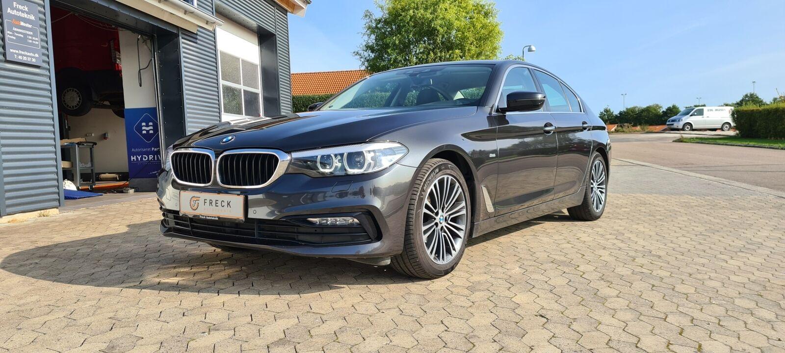 BMW 520d 2,0 Sport Line aut. 4d - 399.980 kr.