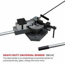 Kakaind Sbg 40 Heavy Duty Universal Bender Square Amp Round Bar Metal Bender