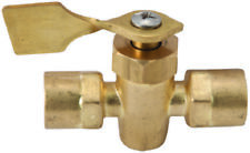 """1//8/"""" Female Brass Heavy Duty Valve Shut-off 104HD Imperial Comp Ends"""