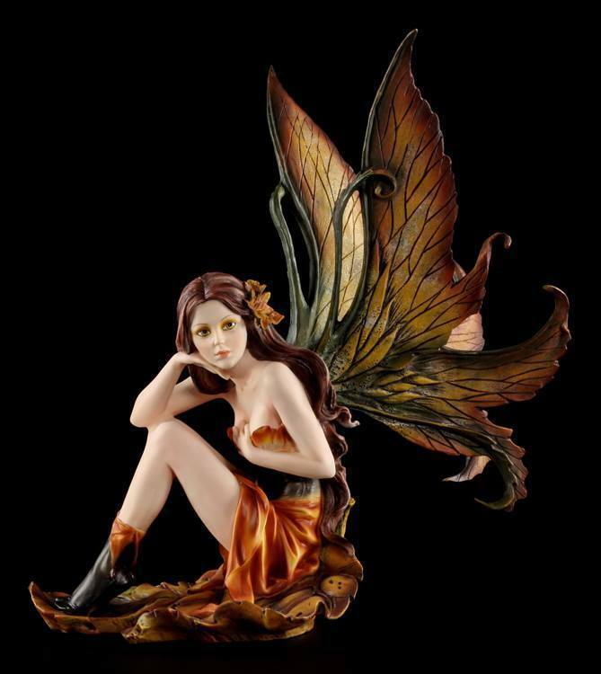 Figura Elfos - Otoño Elfo Alissa - Hada Estatua Fairy