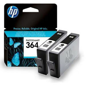 HP No 364 Black Original Ink Cartridge CB316EE Photosmart