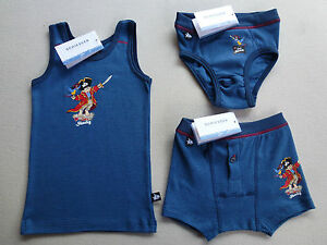 Schiesser-sous-chemise-pour-garcon-slip-new-shorts-CAPT-039-n-Sharky