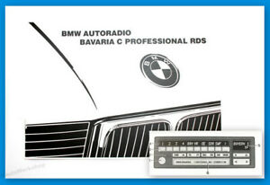Original-BMW-Bavaria-C-Professional-RDS-Autoradio-Betriebsanleitung