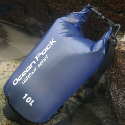 Sports Outdoor Waterproof Canoe Camping Hiking Backpack Dry Bag Pouch Sack 2019