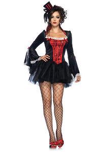 Women-034-TRANSYLVANIA-TEMPTRESS-034-Vampire-Halloween-Costume-Dress-Leg-Avenue-M-L