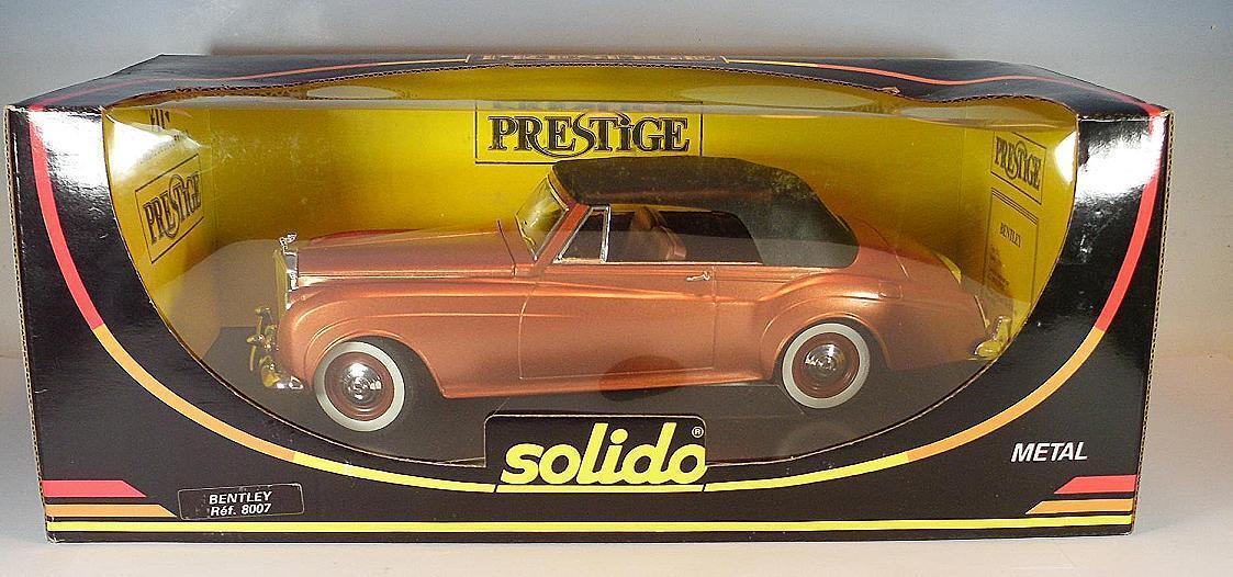 Solido 1 20 Bentley S S S II Cabrio (1961) kupfer OVP  2547 05cc6b