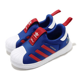 adidas-Originals-Superstar-360-I-Disney-Goofy-Blue-Red-Toddler-Infant-FW1990