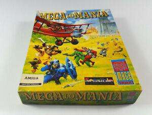 Mega-Lo-Mania-Commodore-Amiga-Spiel-Big-Box-OVP-VGC-CIB-ENG-Sammlung-1Tag