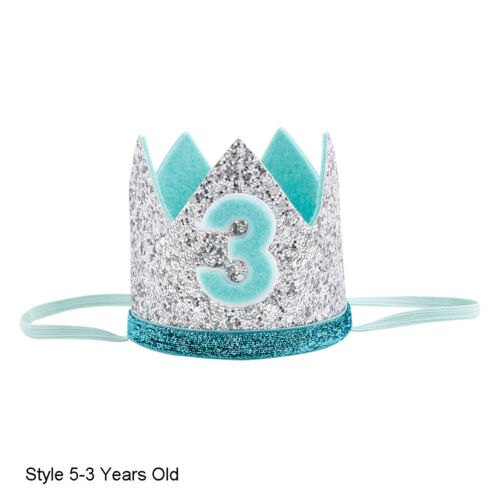 Baby Kid Birthday Party Coiffure prince princesse couronne Coiffure Bandeau Accessoires ~