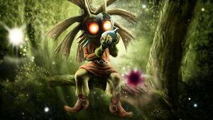 """010 The Legend of Zelda Majoras Mask - Majora s Hot Video Game 43""""x24"""" Poster"""
