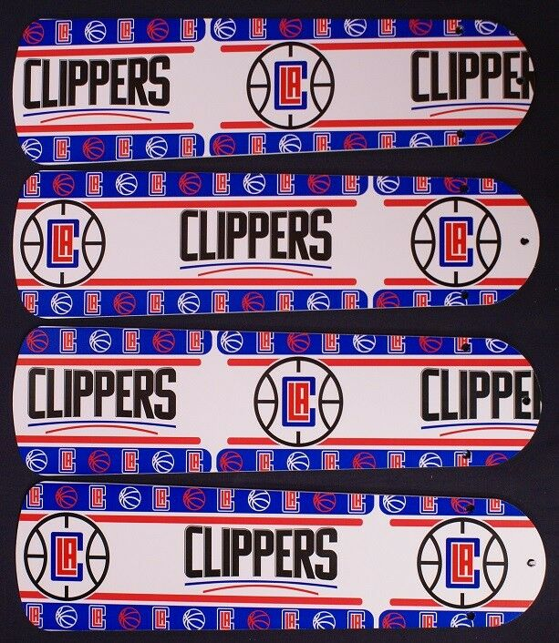 New LA LOS ANGELES CLIPPERS BASKETBALL 42  Ceiling Fan BLADES ONLY