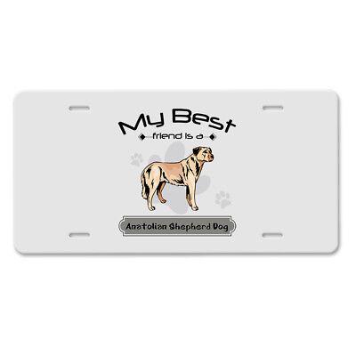 Labrador Retriever Dog Mom Chrome Metal License Plate Frame Tag Border