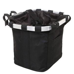Dog-Bicycle-Bike-Bag-Front-Pet-Cat-Travel-Carrier-Handlebar-Basket-Seat-Black