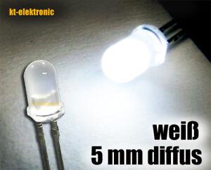 // hoher Fertigungsstandard 50 Stück Leuchtdioden Led 5mm GRÜN 20000mcd max