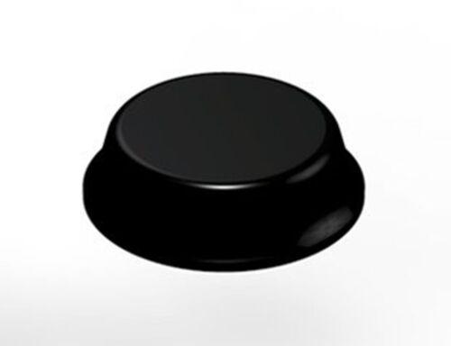 SELF ADHESIVE RUBBER BUMPER 12.7mm x 3.6mm GENUINE 3M™ SJ5012 BLACK BUMPON™ h
