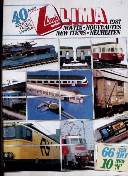 Agressif Catalogo Lima Novità 1987 - Ita Eng Deu Fra - Tr.4 Rendre Les Choses Pratiques Pour Les Clients