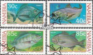 Namibia 764-767 Fine Used Namibia Cancelled 1994 Küstenangeln Nourishing Blood And Adjusting Spirit