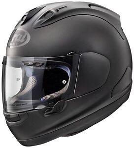 NEU-ARAI-RX-7V-Racing-Motorradhelm-frost-black-Gr-XL-61-62-schwarz-matt-RX7-V